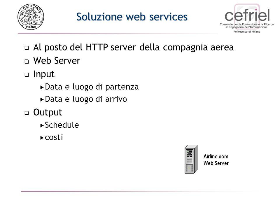 Soluzione web services