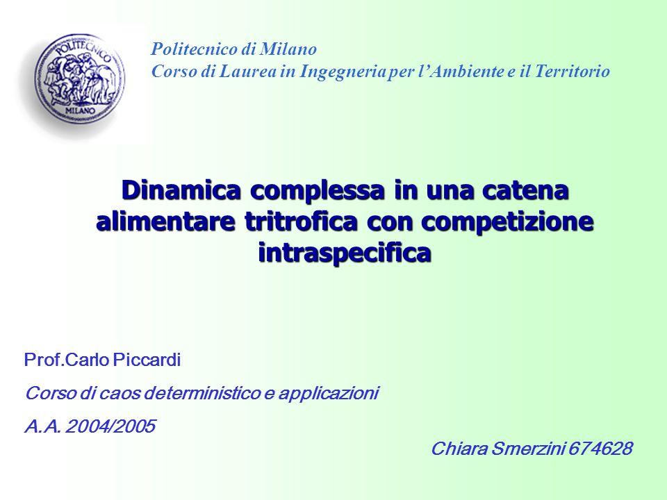 Politecnico di MilanoCorso di Laurea in Ingegneria per l'Ambiente e il Territorio.