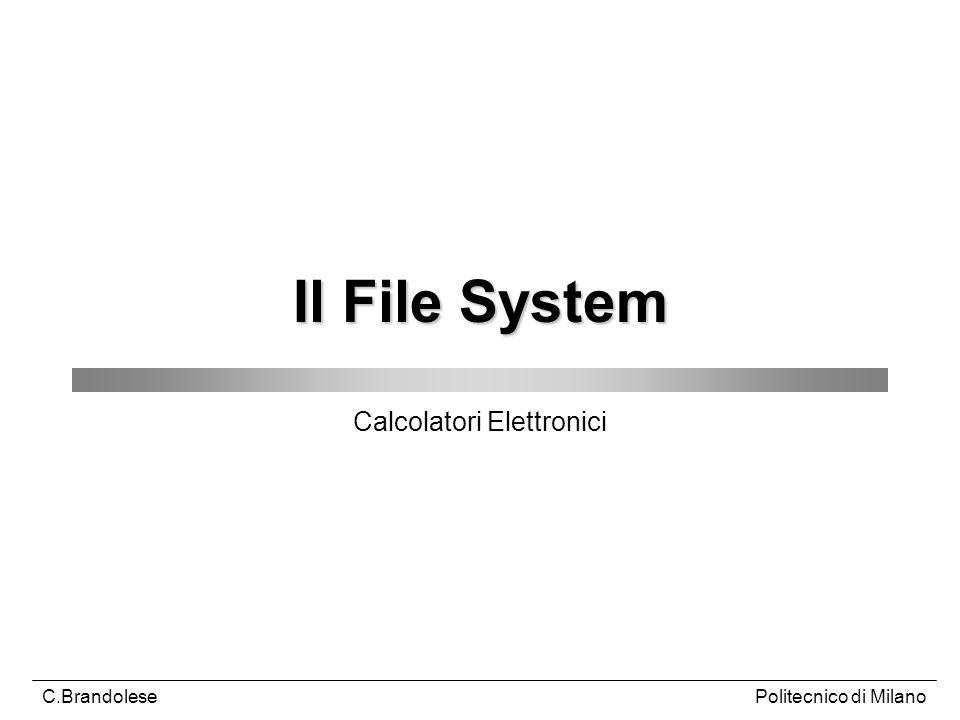Calcolatori Elettronici