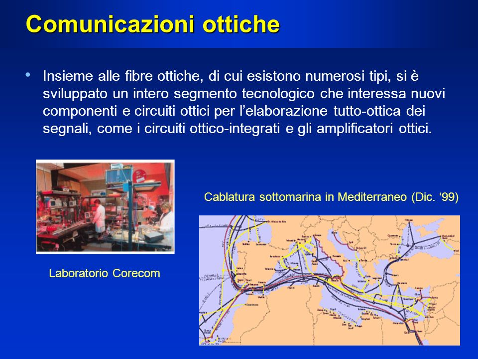 Comunicazioni ottiche