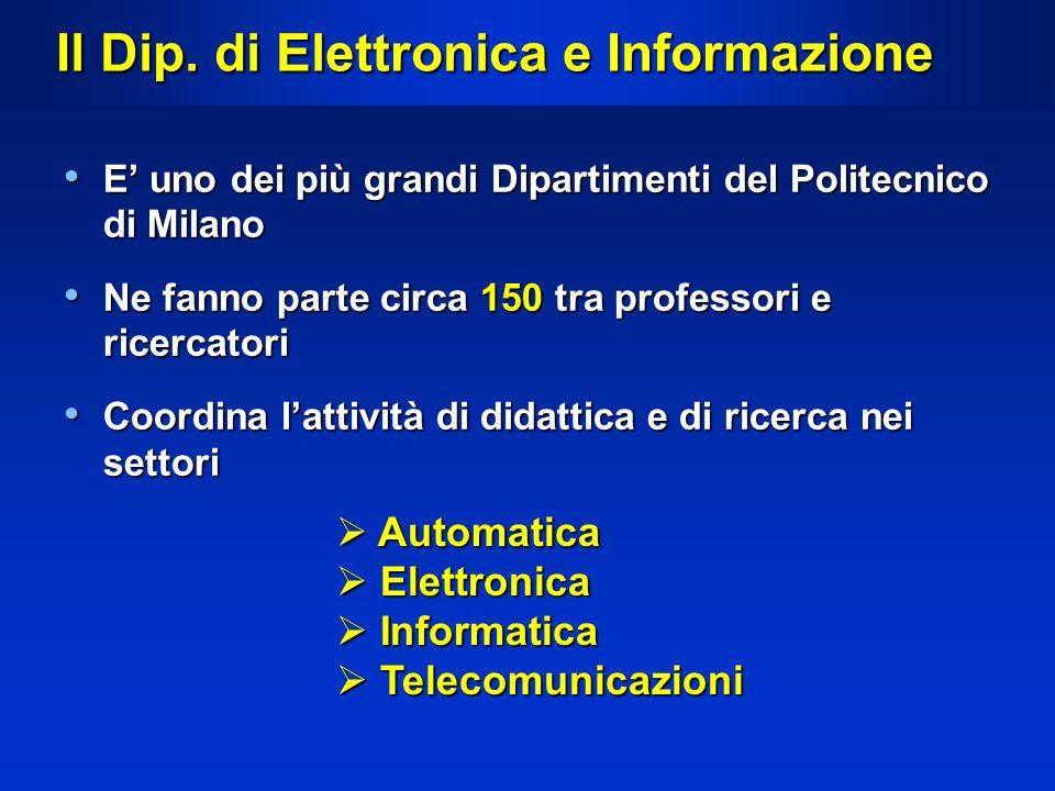 Il Dip. di Elettronica e Informazione