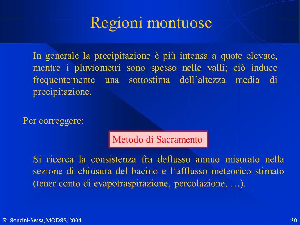 Regioni montuose
