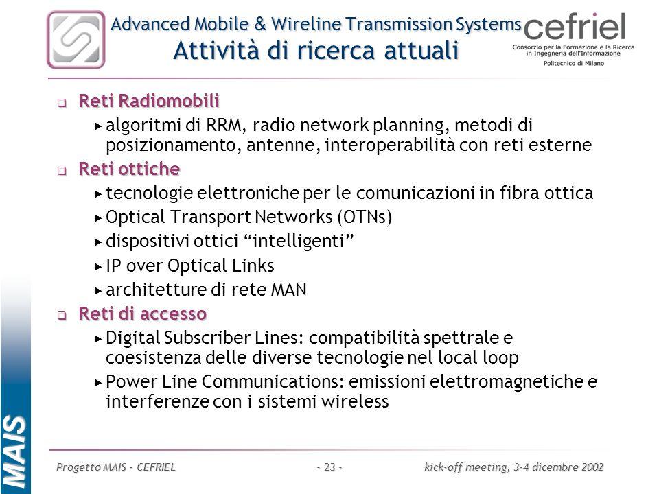 tecnologie elettroniche per le comunicazioni in fibra ottica