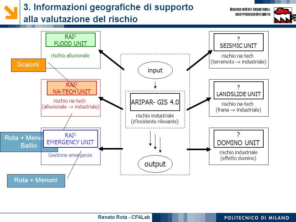 3. Informazioni geografiche di supporto alla valutazione del rischio - 1