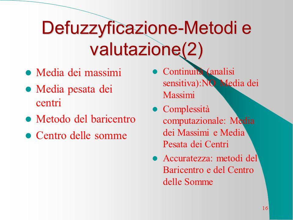 Defuzzyficazione-Metodi e valutazione(2)