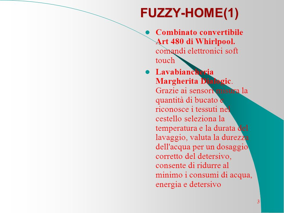 FUZZY-HOME(1) Combinato convertibile Art 480 di Whirlpool. comandi elettronici soft touch.