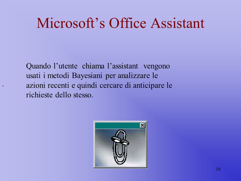 Microsoft's Office Assistant