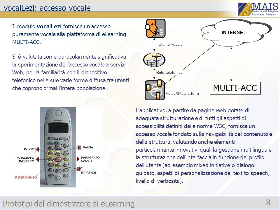 vocalLezi: accesso vocale