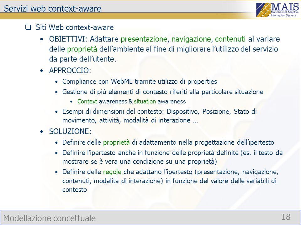 Servizi web context-aware