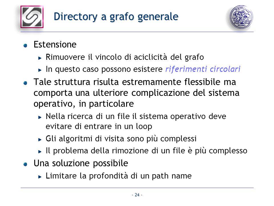 Directory a grafo generale