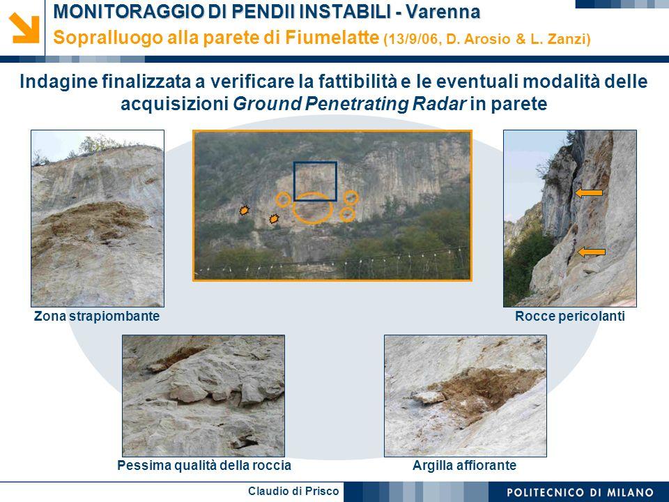 MONITORAGGIO DI PENDII INSTABILI - Varenna