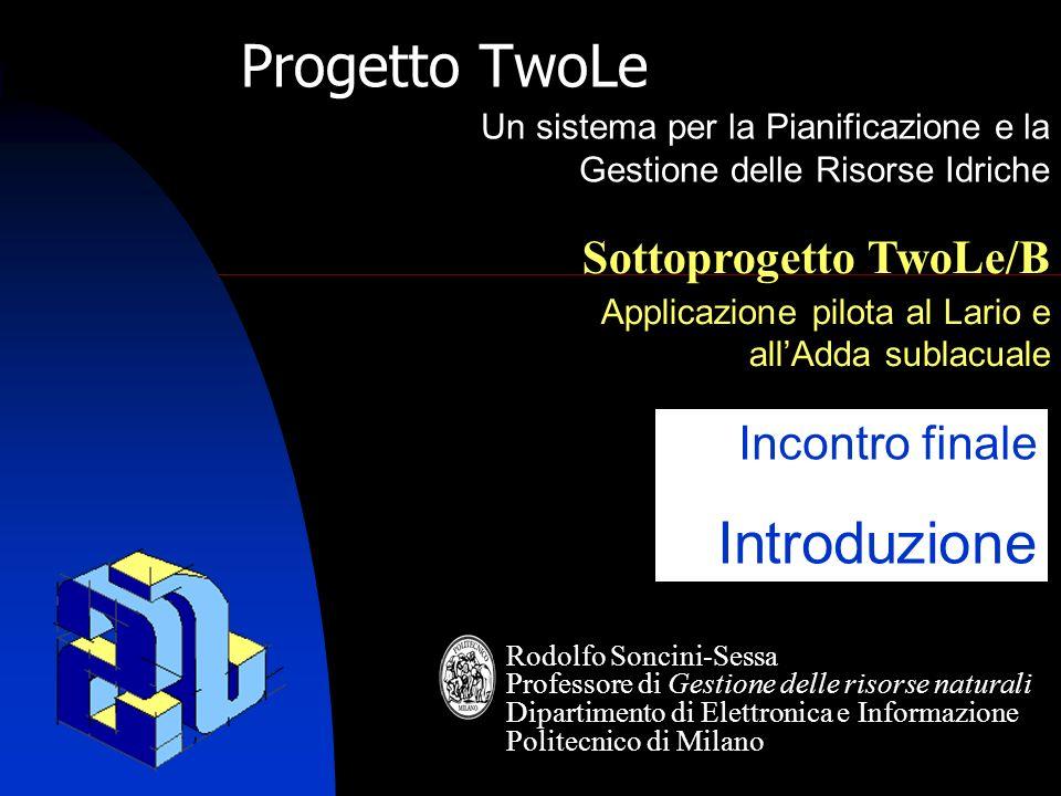 Progetto TwoLe Introduzione