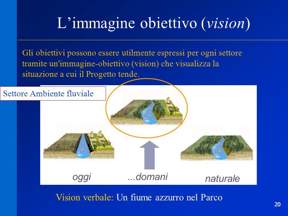 L'immagine obiettivo (vision)