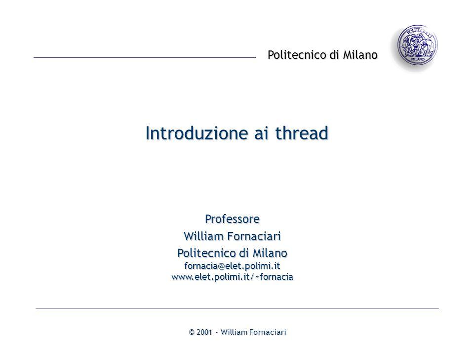 Introduzione ai thread