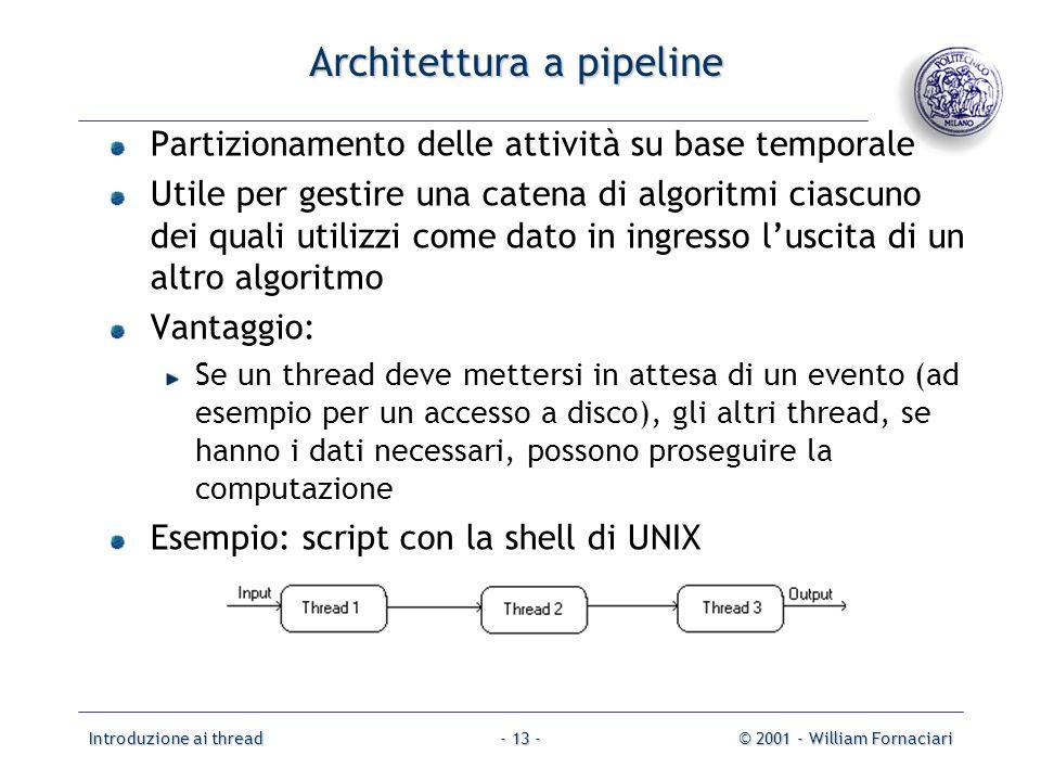 Architettura a pipeline