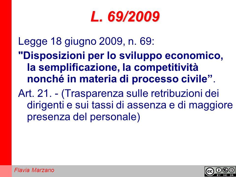 L. 69/2009