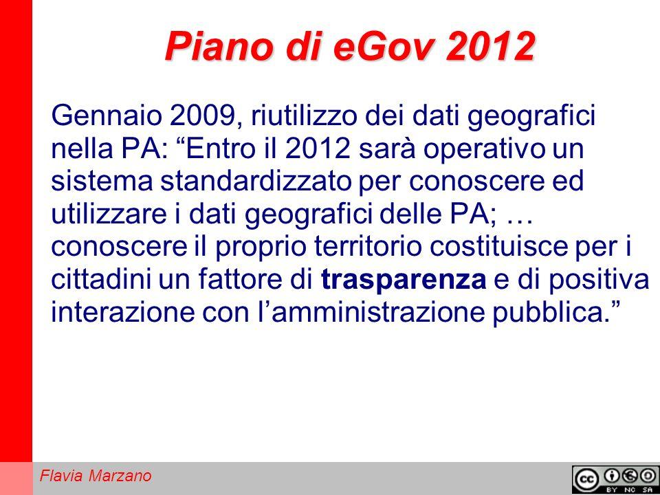 Piano di eGov 2012
