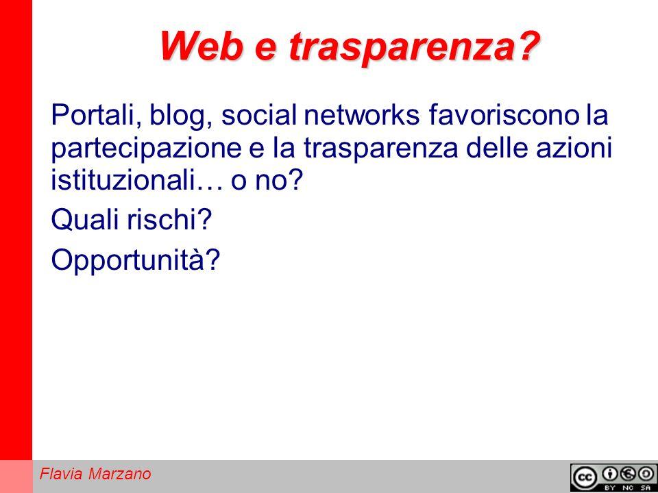 Web e trasparenza