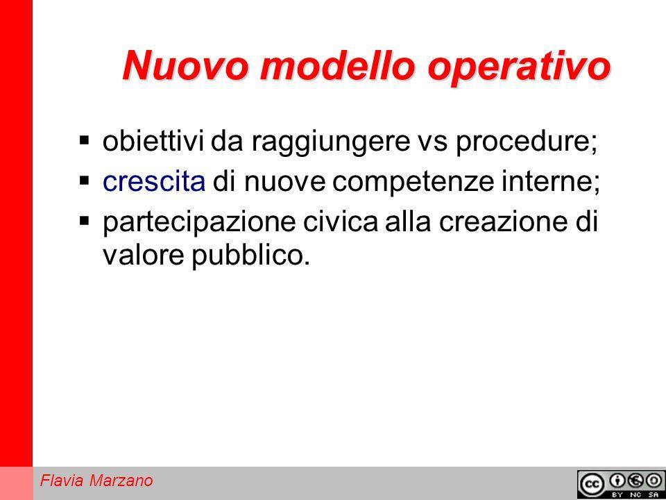 Nuovo modello operativo