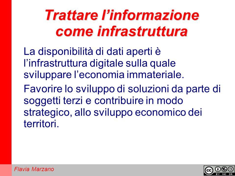 Trattare l'informazione come infrastruttura