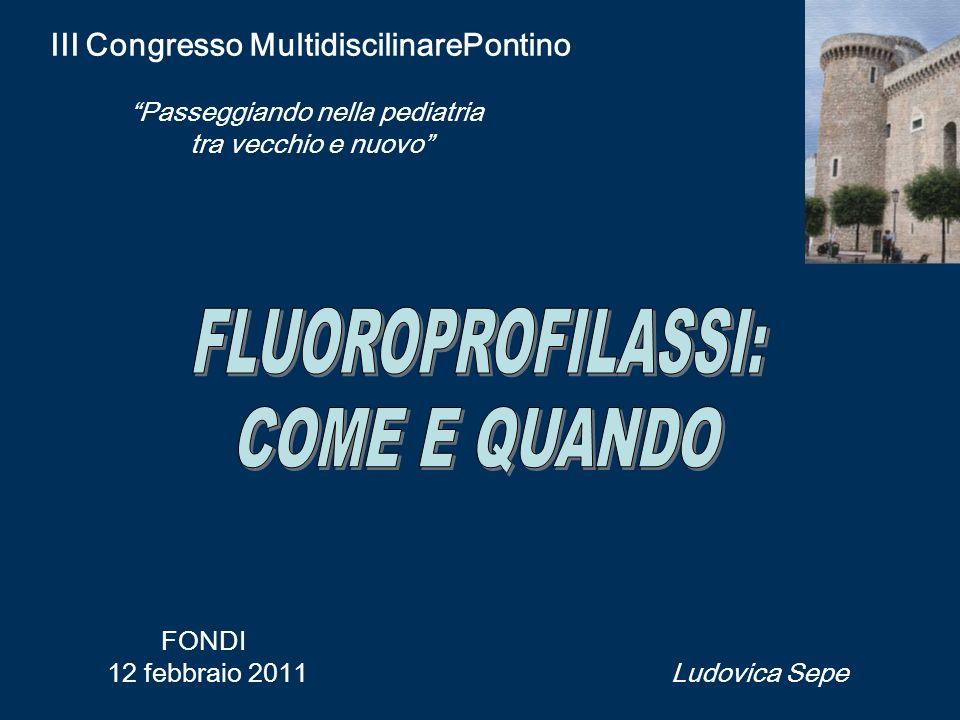 III Congresso MultidiscilinarePontino