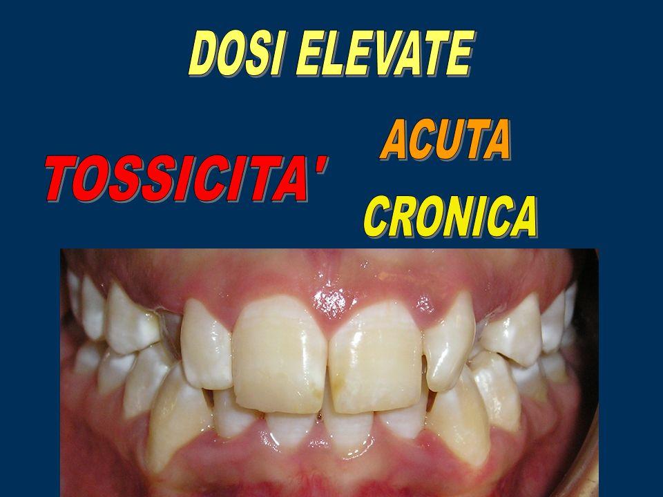 DOSI ELEVATE ACUTA TOSSICITA CRONICA