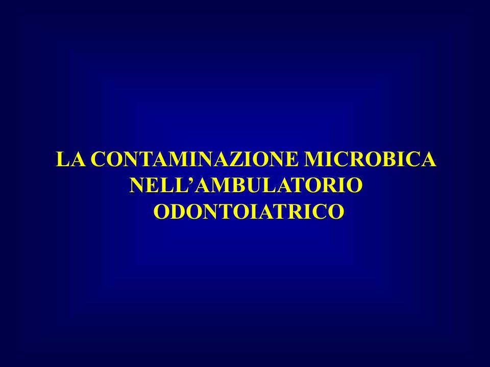 LA CONTAMINAZIONE MICROBICA