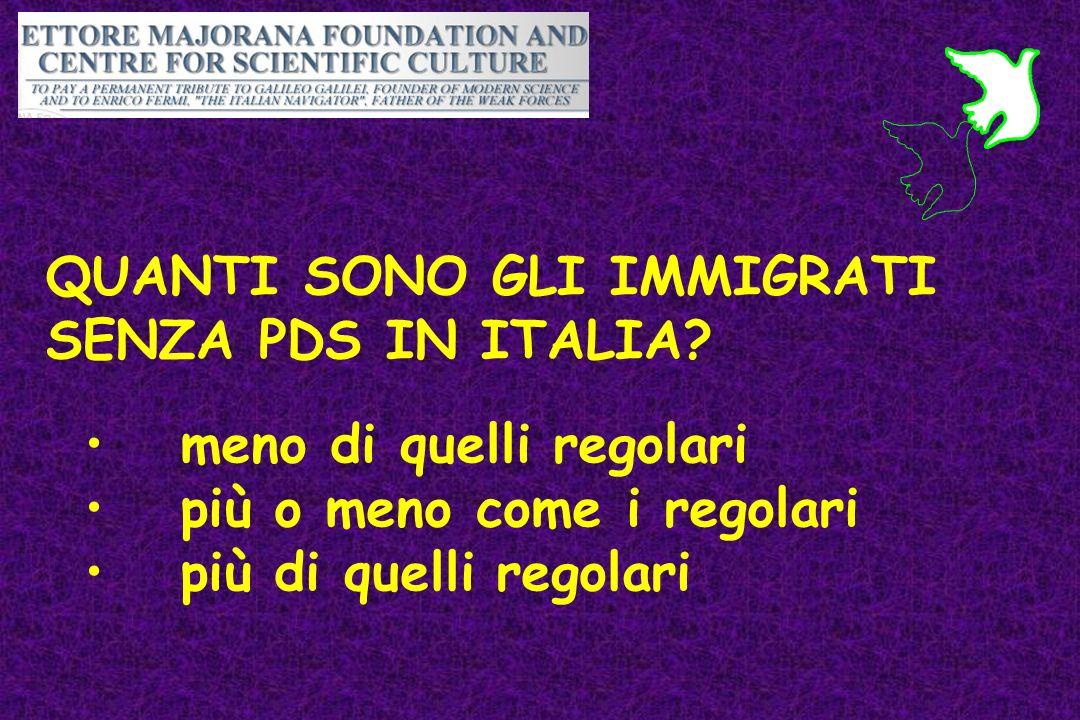 La medicina delle migrazioni scenari socio demografici in for Quanti sono i senatori in italia