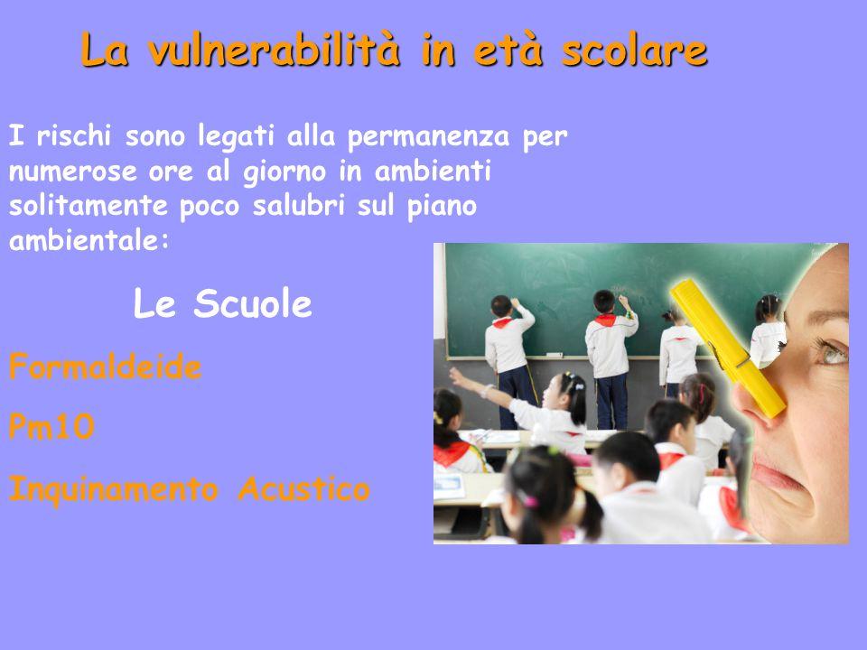 La vulnerabilità in età scolare