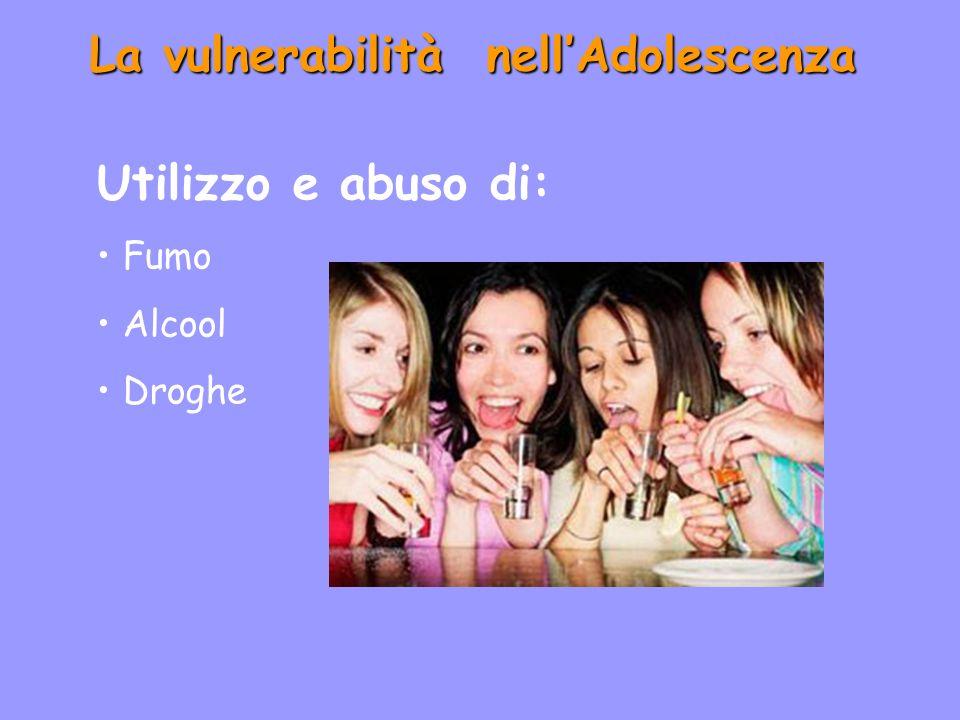 La vulnerabilità nell'Adolescenza