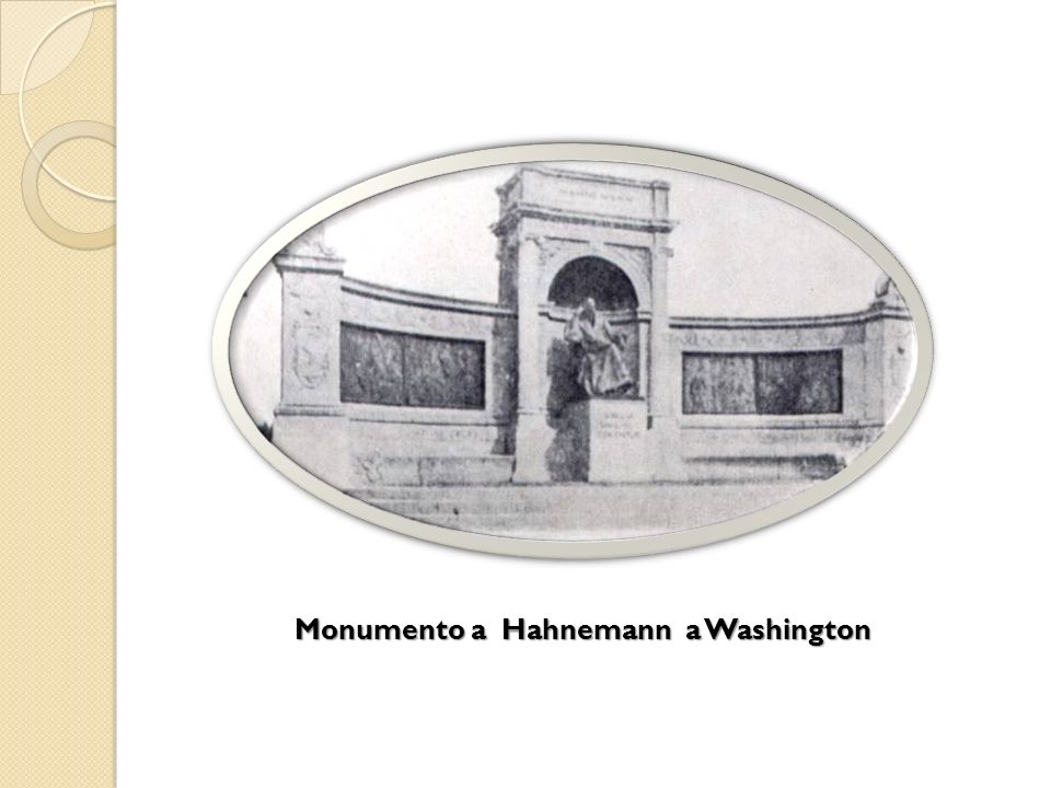 Monumento a Hahnemann a Washington