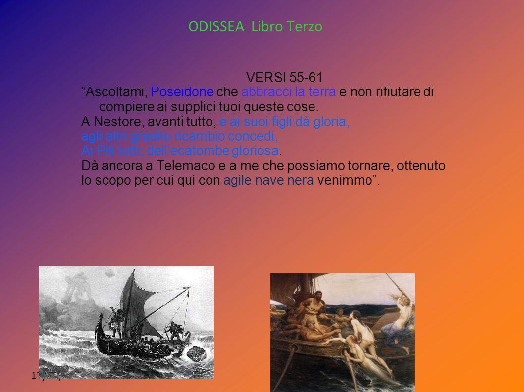 ODISSEA Libro Terzo VERSI 55-61