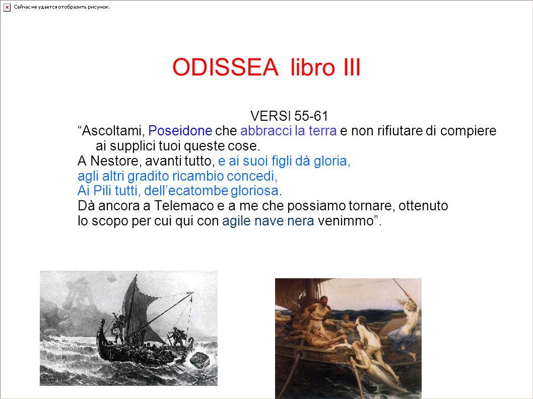ODISSEA libro III VERSI 55-61