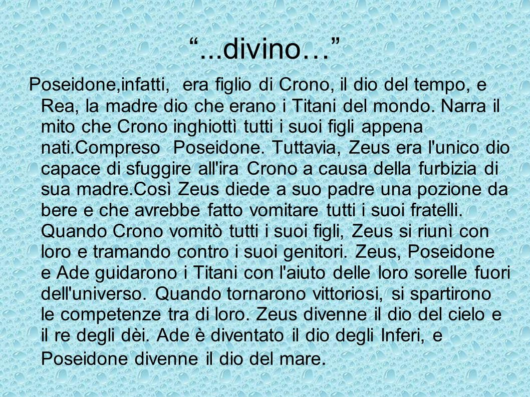 ...divino…