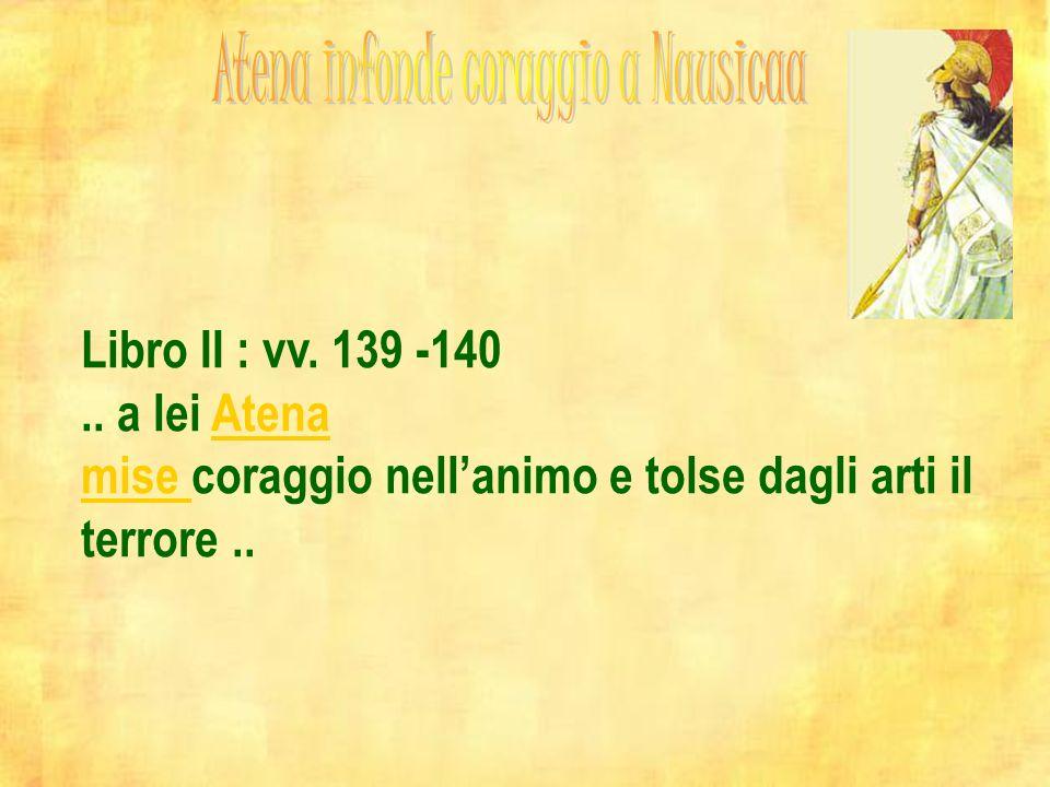 Atena infonde coraggio a Nausicaa