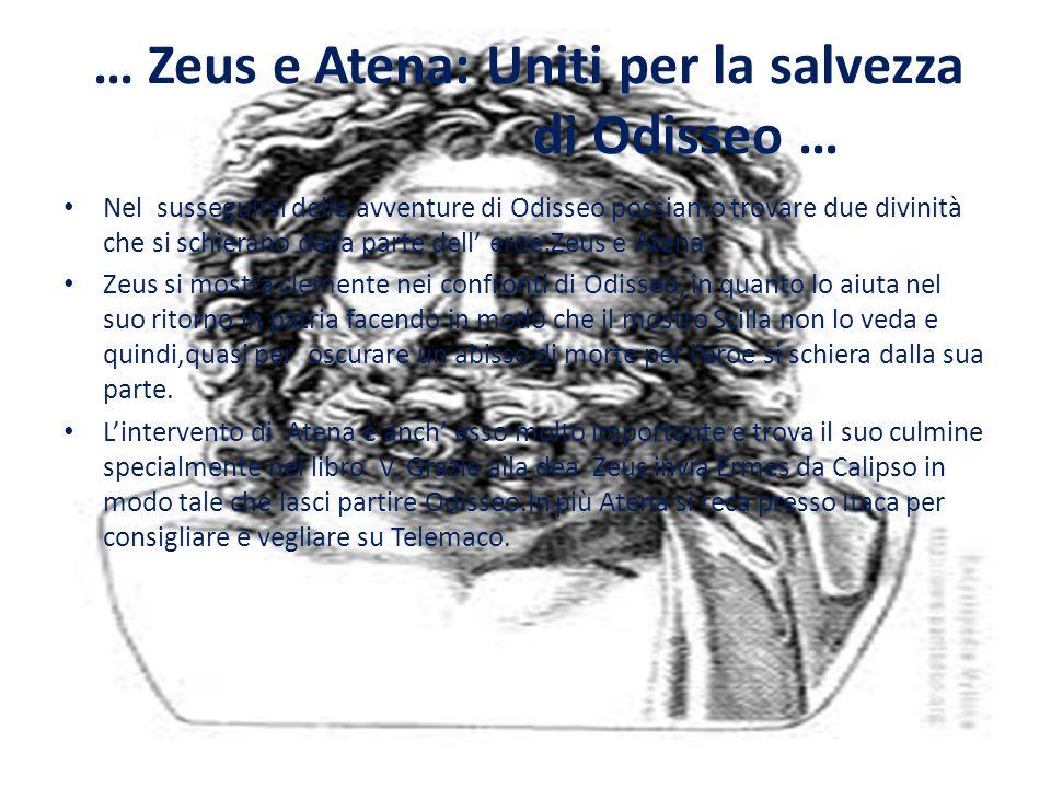 … Zeus e Atena: Uniti per la salvezza di Odisseo …