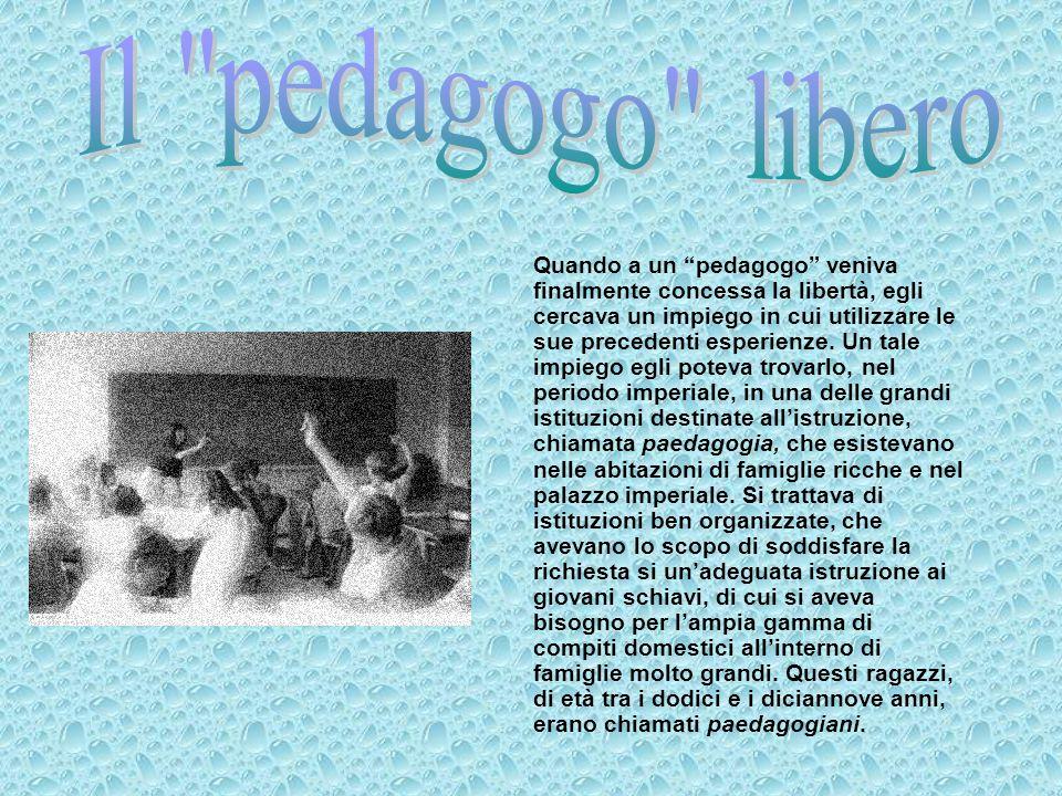 Il pedagogo libero