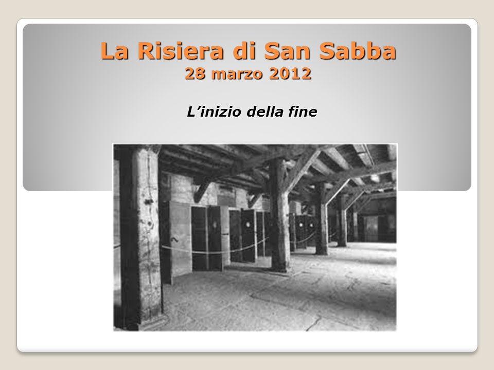 La Risiera di San Sabba 28 marzo 2012