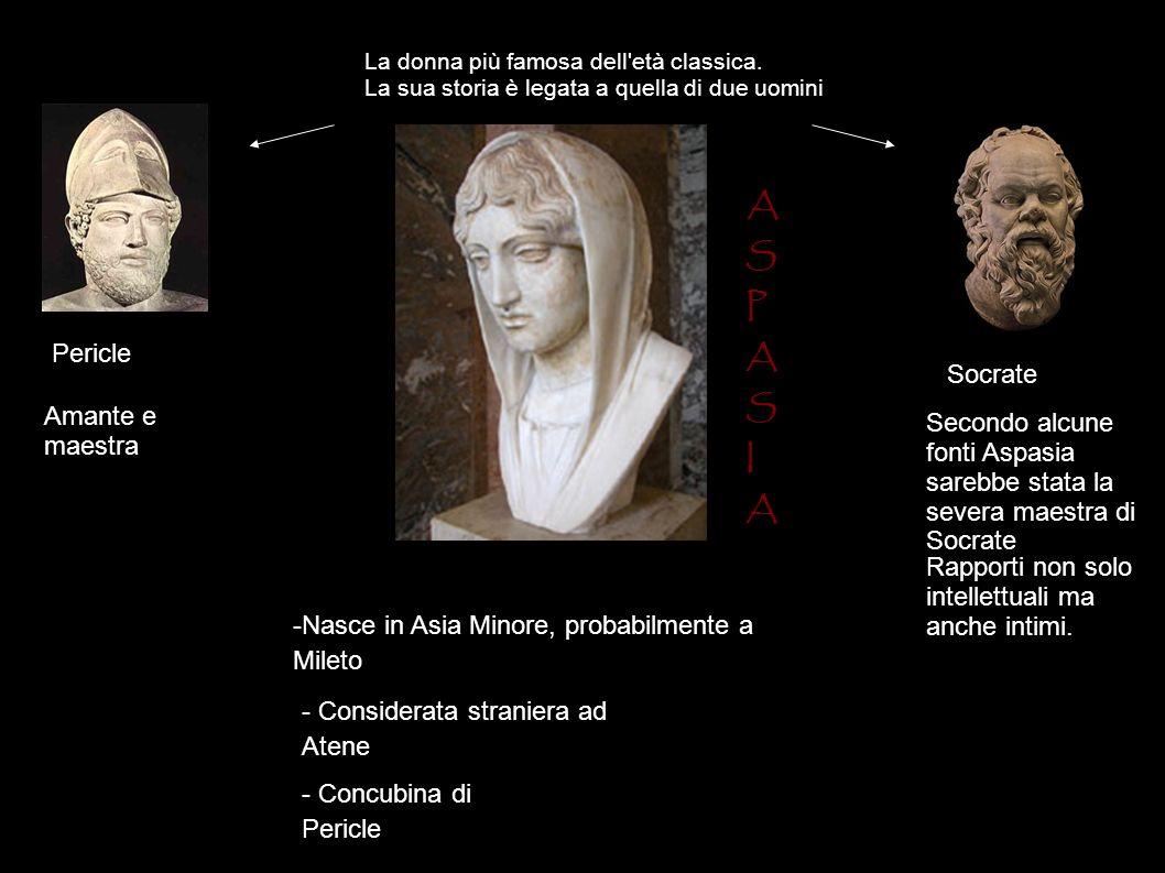 S P I A Pericle Socrate Amante e maestra