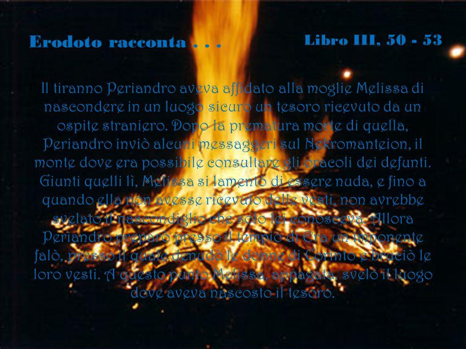 Erodoto racconta . . . Libro III, 50 - 53