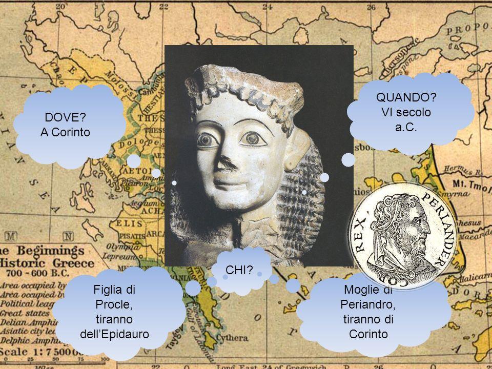 Figlia di Procle, tiranno dell'Epidauro