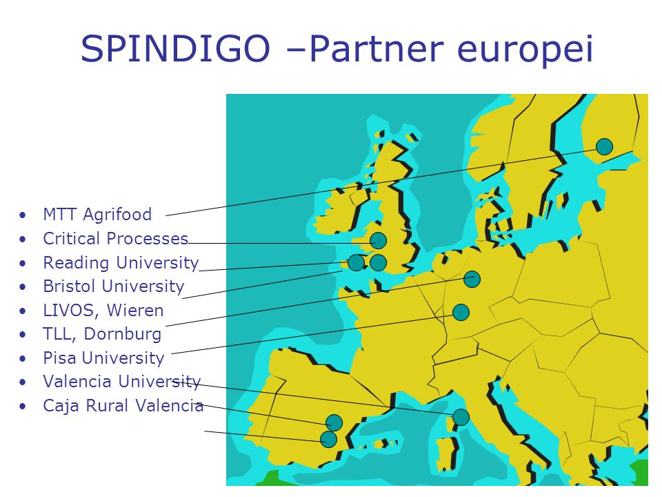 SPINDIGO –Partner europei