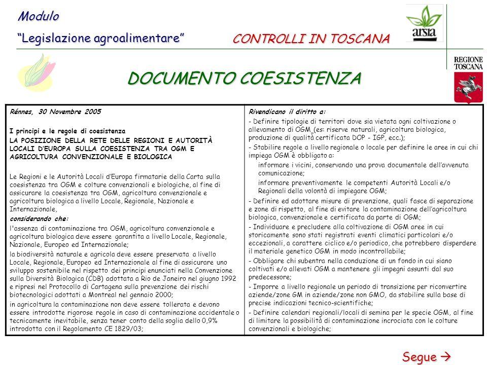 DOCUMENTO COESISTENZA