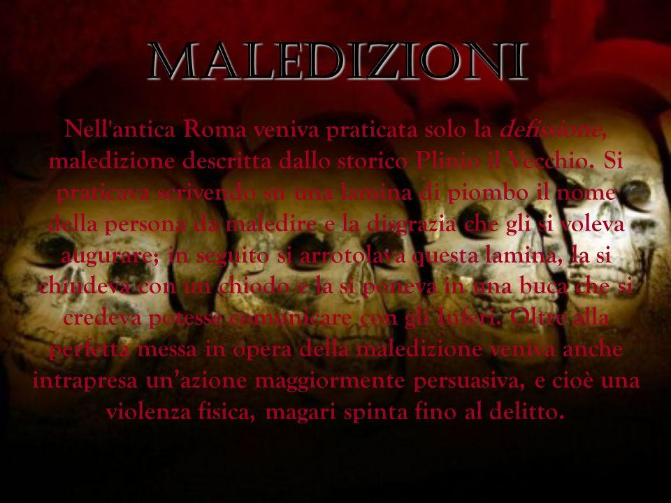 MALEDIZIONI