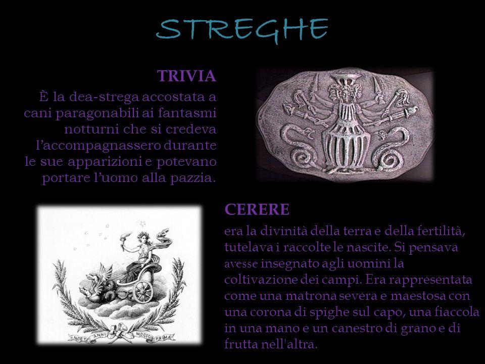 STREGHE TRIVIA.