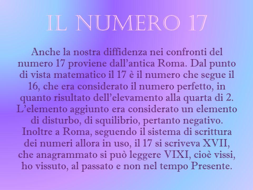 IL NUMERO 17