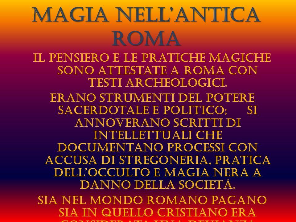 Magia nell'antica Roma