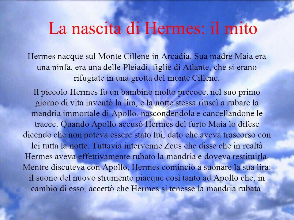 La nascita di Hermes: il mito