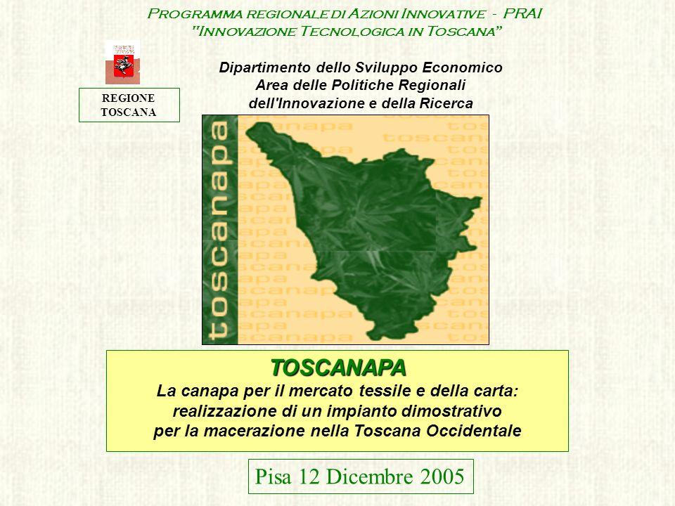 TOSCANAPA Pisa 12 Dicembre 2005