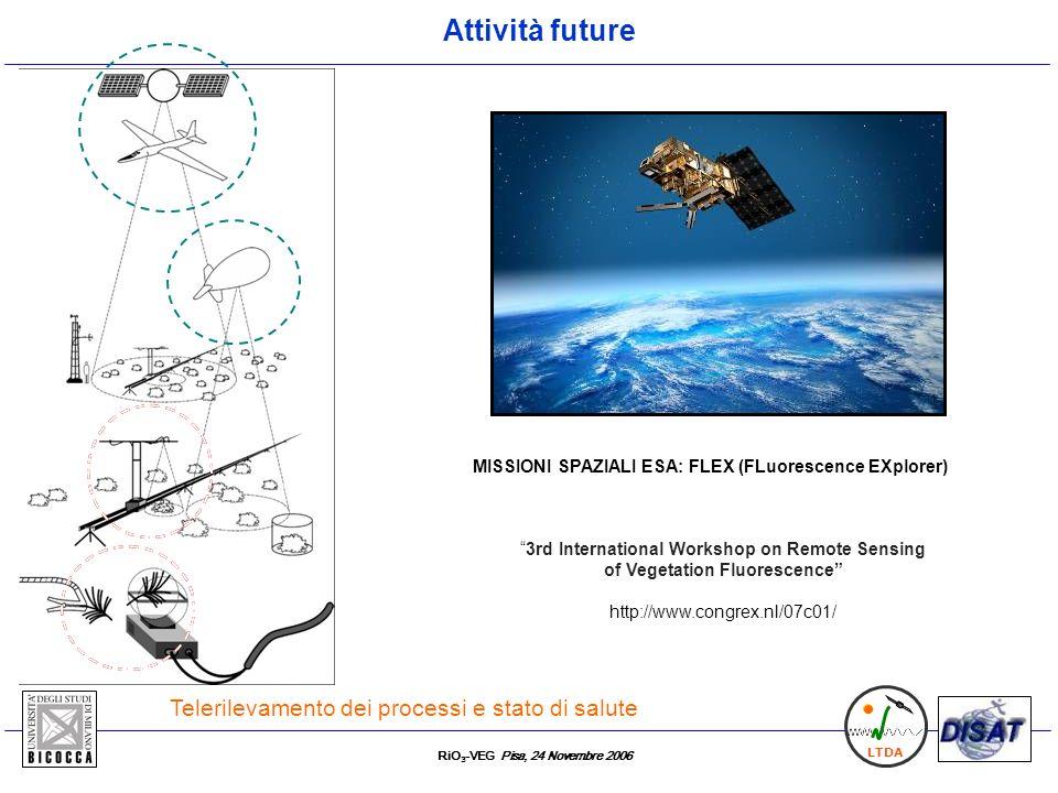 MISSIONI SPAZIALI ESA: FLEX (FLuorescence EXplorer)